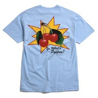 What's Poppin T-Shirt Powder Blue