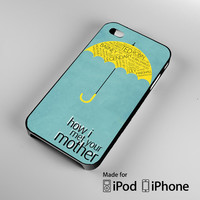 How I Met Your Mother American Sitcom Ted Mosby Romance A1568 iPhone 4S 5S 5C 6 6Plus, iPod 4 5, LG G2 G3, Sony Z2 Case