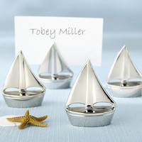 Sailboat Place Card Holders (Set of 4)