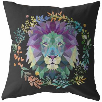 Lion Pillows King Of Lions