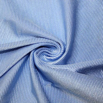 "Ribbed Swimwear Activewear 4 Way Stretch Nylon Spandex Lycra Light Blue Apparel Craft Fabric 90""-92"" Wide By The Yard"
