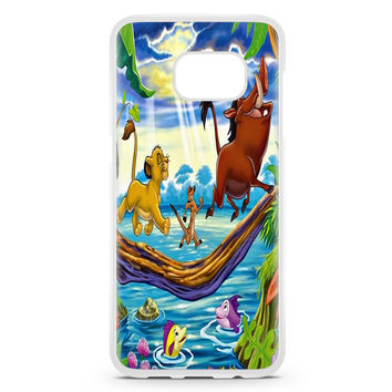 Simba Timon And Pumba Samsung Galaxy S7 Edge Case