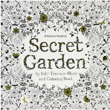 Secret Garden 96 Pages English Edition Coloring Book For Children Adult Relieve Stress Kill Time Graffiti Painting Drawing Book