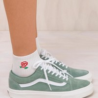 VANS Old Skool Sea Spray/True White Slim Retro Sport Sneaker