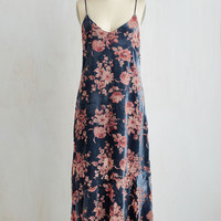 Boho Long Sleeveless Drop Waist Allure Where That Came From Dress