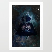 Lord Vader Art Print by The Backwater Co