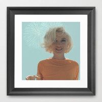 My Marilyn Monroe Framed Art Print by dietradee
