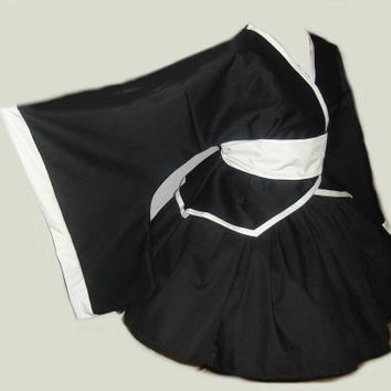 Gothic Lolita Cosplay Kimono Set Jacket Skirt and Sash by MGDclothing
