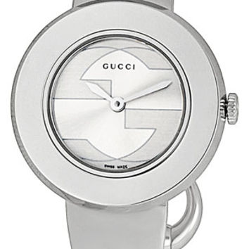 Gucci Steel Gift Set Bangle Ladies Watch YA129502