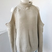 ELIZA TURTLENECK- BEIGE