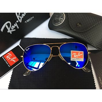 Ray Ban Fashion Sunglasses RB3025 Gold/Blue