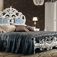 DOUBLE BED WITH UPHOLSTERED HEADBOARD 11213 | DOUBLE BED | MODENESE GASTONE GROUP