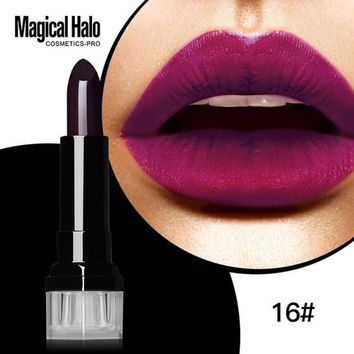 2017 Long-Lasting East to Wear Lipgloss Sexy Metal Makeup Proof Water Lipstick Frosted Pigment Gold Metallic Liquid Lipstick