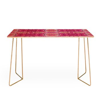 Chobopop Pink Panther Pattern Desk