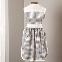 Charleston Grey Apron