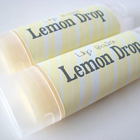 Lemon Drop Candy Flavor - Lip Balm - Natural  - Vegan - No sweeteners - Bath and body - Home and Living