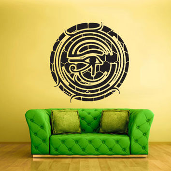 Wall Vinyl Sticker Decals Decor Art Bedroom Design Mural Illuminati Symbol All seeing eye annuit coeptis (z2201)