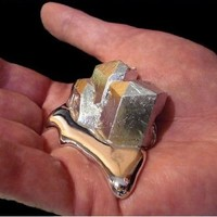 Gallium 99.99% Pure 20 Grams 4n Even Melt in Your Hand