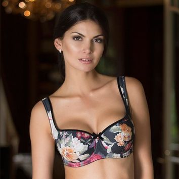 Lightly Padded Balcony Bra Rosme Augustine