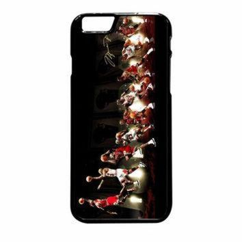 CREYUG7 Michael Jordan NBA Chicago Bulls Dunk iPhone 6 Plus Case