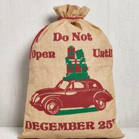 Do Not Open Gift Sack by Mona B