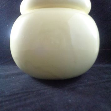 Yellow Self Watering Pottery
