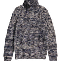 Wool-blend Turtleneck Sweater - from H&M