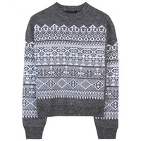 Fair Isle Wool-Blend Pullover » Alexander Wang ∫ mytheresa