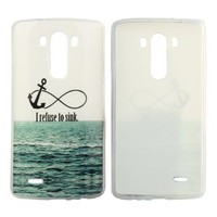 Suppion Soft TPU Case Gel Cover for Lg G3 D855 D850 (White)