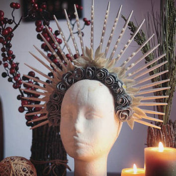 Ice Queen Headdress - Fantasy Kopfschmuck - Gothic