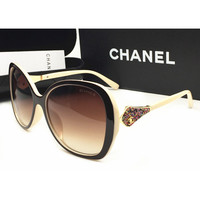 Perfect Chanel Women Fashion Sunglasses Popular Summer Style Sun Shades Eyeglasses Glasses Sunglasses