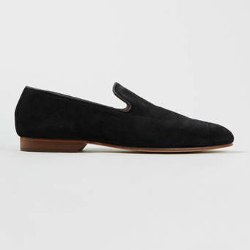 House of Hounds Whiteman Black Suede Loafers - Casual Shoes - Shoes and Accessories