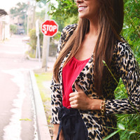 She's Cheetah Licious Cardigan | Hope's