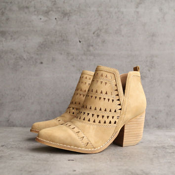 spring valley cutout ankle bootie