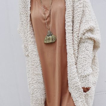 Popcorn Oversized Sweater