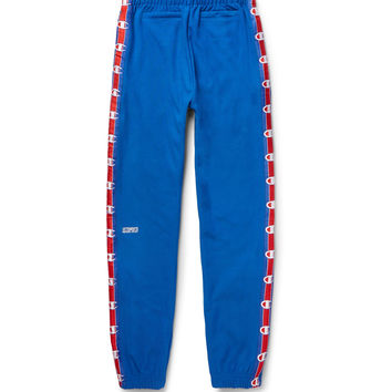 Vetements - + Champion Slim-Fit Loopback Cotton-Blend Jersey Sweatpants