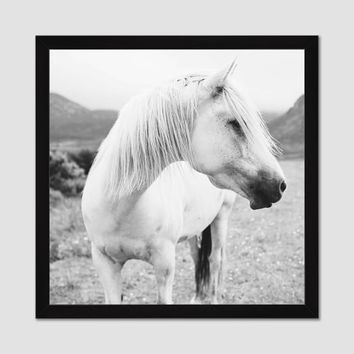 Minted For West Elm - Field Horse