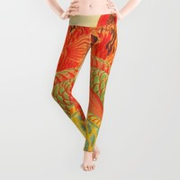 Colorful Fish Leggings by Artistic Home Accessories