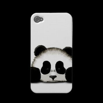 Cute Sad Baby Panda Iphone 4 Case-mate Cases from Zazzle.com