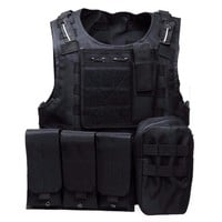 Adjustable Canvas Tactical Vest