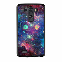 Zelda Majora Mask The Legend In Space Galaxy Nebula LG G3 Case