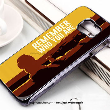 Lion King Movie Cartoon Samsung Galaxy S6 and S6 Edge Rubber Case