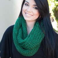 Knit Loop Infinity Scarves