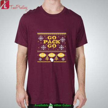 Green Bay Packers Fans Ugly Christmas for Men T-Shirt, Women T-Shirt, Unisex T-Shirt