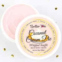 COCONUT CREAM PIE Whipped Soufflé Rich Body Cremé - Botanically Infused Body Butter