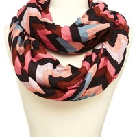 Chevron Stripe Infinity Scarf: Charlotte Russe