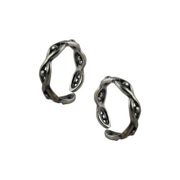 Adjustable Toe Rings for Teen Girls Silver Alloy Jewelry Asian
