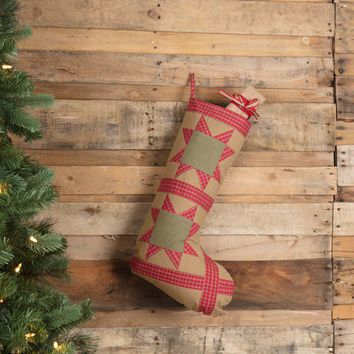 Dolly Star Tan Patch Stocking