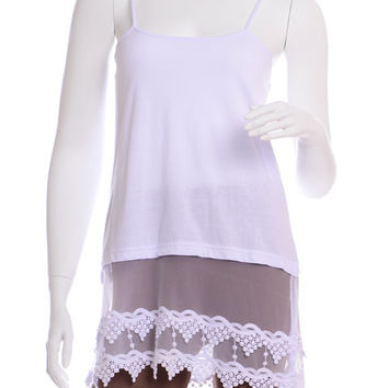 Lace Top Extender Cami