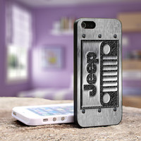 Jeep Logo - iPhone 4, 5, 5S 5C, Samsung Galaxy S3,S3 mini, S4, S4 mini and iPod 4, 5 Case